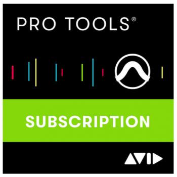 Avid Pro Tools 1 Año Subcripción Descarga