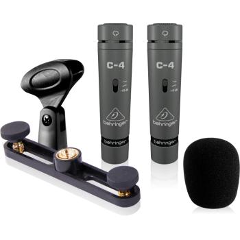 BEHRINGER C4 Microfono de Condensador Behringer C-4 Pareja