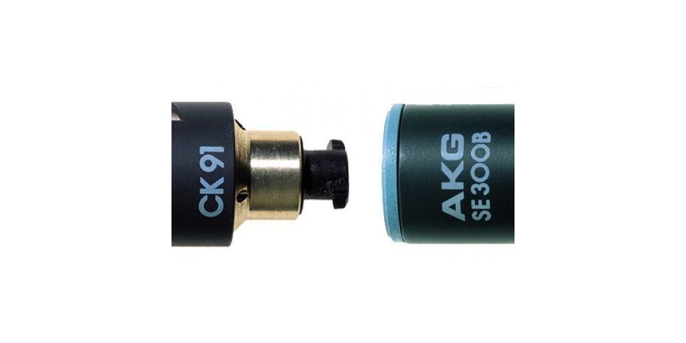 AKG C-391B Microfono Condensador  SE-300B + Capsula CK91
