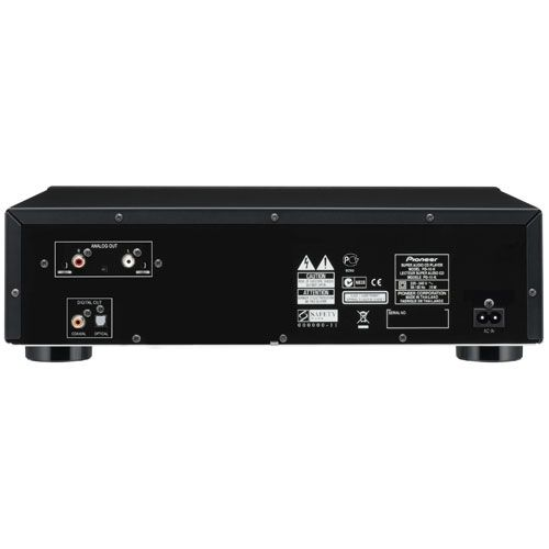 Pioneer PD-10 K Compact Disc Negro