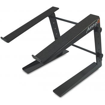 Audibax TOP-5 MH-001 PRO Negro Laptop DJ Stand Ordenador portátil cabina Dj / estudio