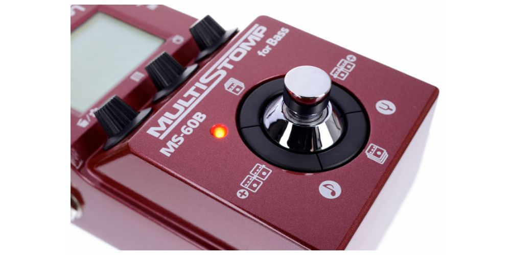 zoom ms60b pedal