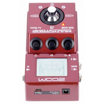Zoom MS60B Pedal MultiEfectos