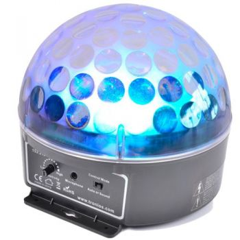 BEAMZ 153219 Magic Jelly DJ Ball activado por la musica LED