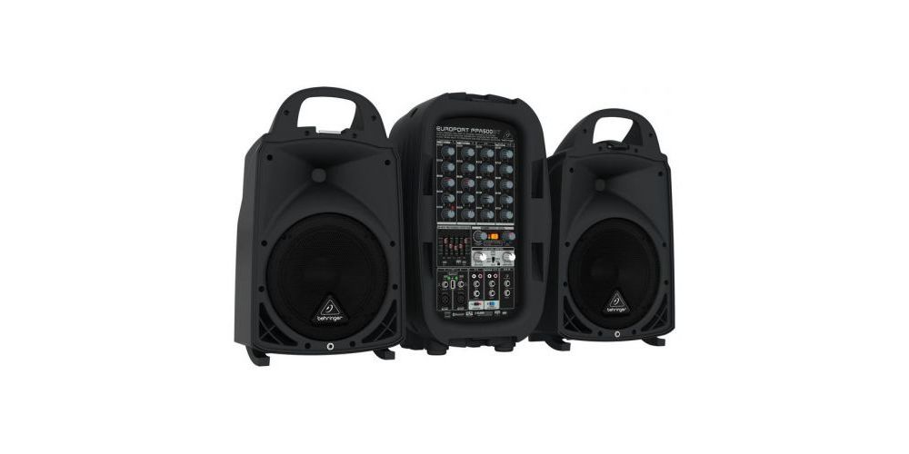 BEHRINGER PPA500BT EQUIPO PA