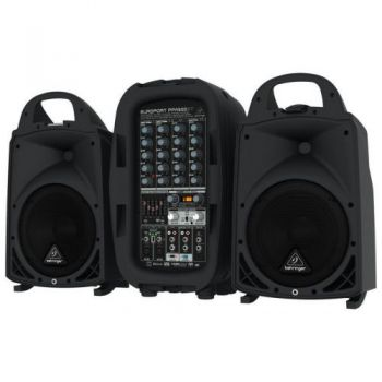 BEHRINGER PPA500BT Sistema PA, 500w, 6 Canales, Ultracompacto
