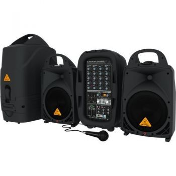 BEHRINGER PPA500BT Sistema PA, 500w, 6 Canales, Ultracompacto ( REACONDICIONADO )