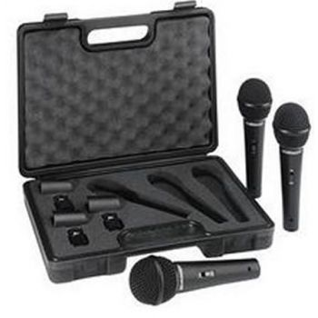 PROEL DM800 KIT Pack 3 Microfonos Vocal