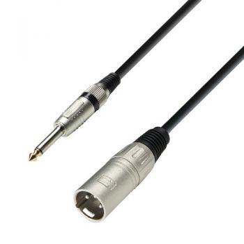 ADAM HALL Cable REAN Jack Mono 6,3 a XLR Macho 6 Metros RF:40