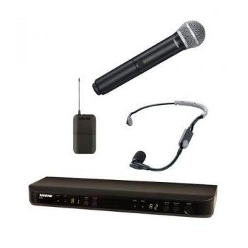 SHURE BLX1288 SM35 Microfono inalambrico dual de Mano y Diadema