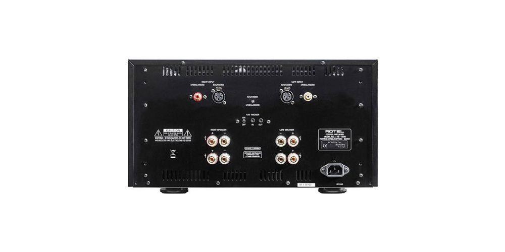 rotel RB1590 etapa potencia conexiones
