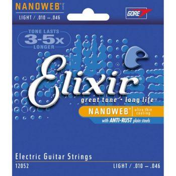 Elixir Juego de Cuerdas Guitarra Eléctrica Nanoweb 10-46