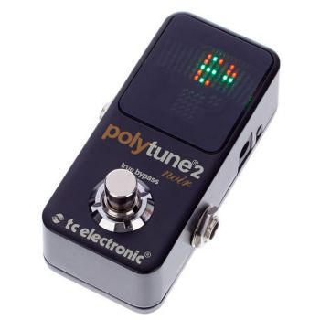 TC Electronic PolyTune 2 Mini Noir Afinador