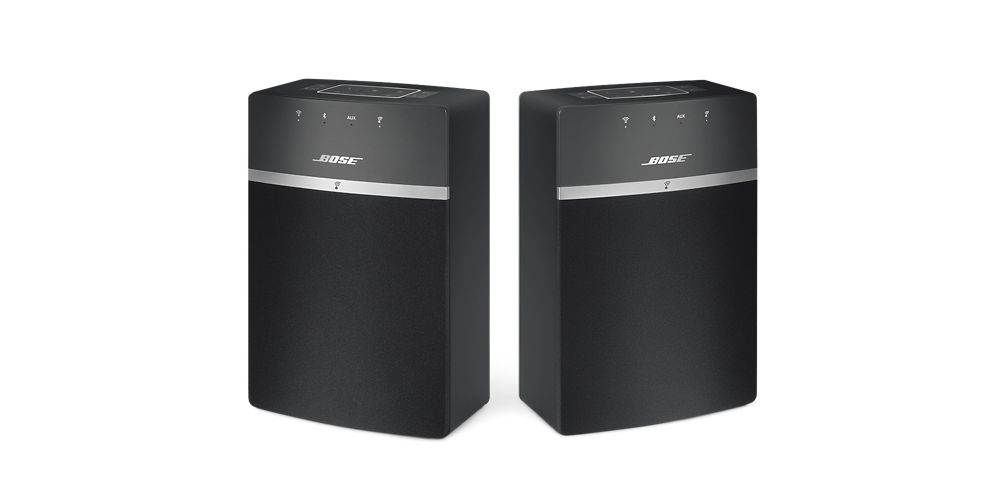 bose twin 10 black soundtouch 10 pack 2 unidades