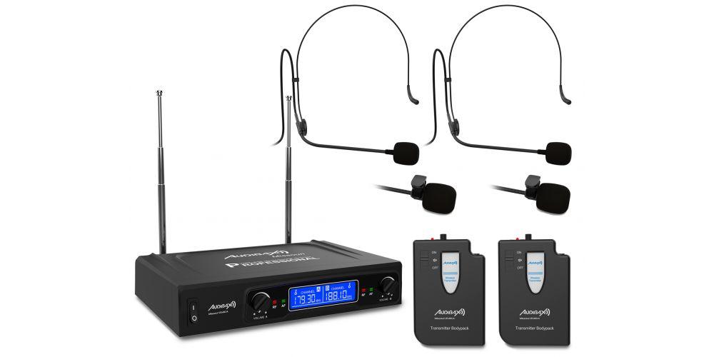 audibax missouri2500 a microfono inalambrico