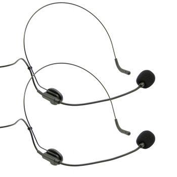 Audibax MISSOURI 2500 Microfono inalambrico Profesional Doble Lavalier / Madona Frec. A