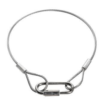 ADJ Cable Seguridad 60cm 30kg 4mm