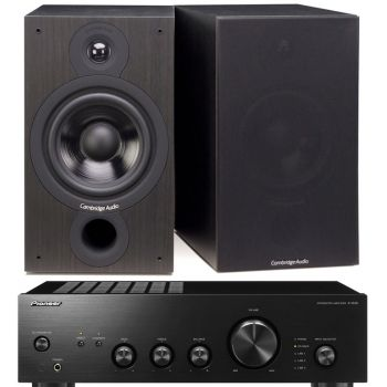 Pioneer A-10AE K + Cambridge SX60 BK