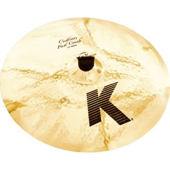 "ZILDJIAN CRASH 18"" K CUSTOM FAST"