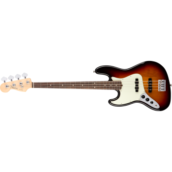 Fender American Pro Jazz Bass Left-Hand Rosewood Fingerboard 3-Color Sunburst