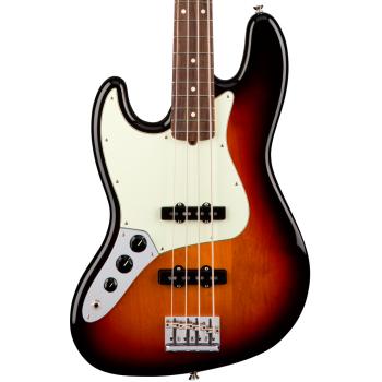 Fender American Pro Jazz Bass RW 3 Color Sunburst LH Bajo Eléctrico para Zurdos