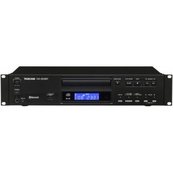 Tascam CD-200BT Reproductor de CD y transmisor de audio Bluetooth con códec AptX