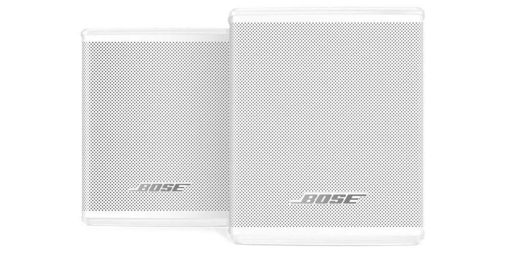 bose sourround speakers white blanco