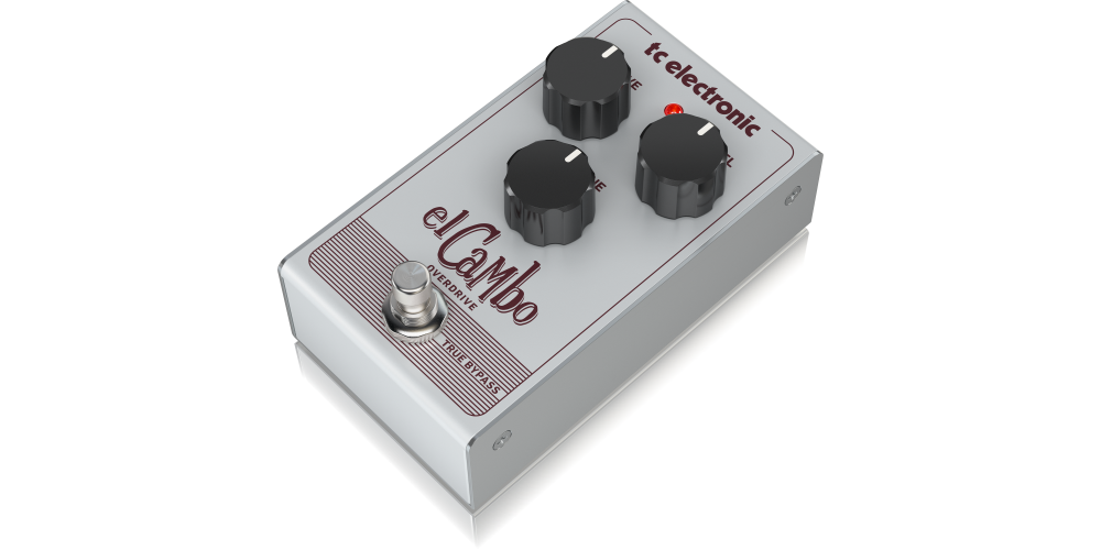 EL CAMBO OVERDRIVE pedal efectos tc electronic