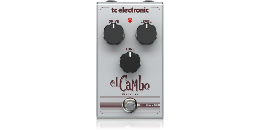 EL CAMBO OVERDRIVE tc electronic pedal efectos