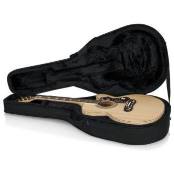 Gator GL-JUMBO Estuche Ligero Guitarra Tipo Jumbo / LIGHTWEIGHT