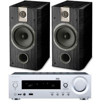 ONKYO RN855 Silver + Focal Chorus 605  Conjunto audio