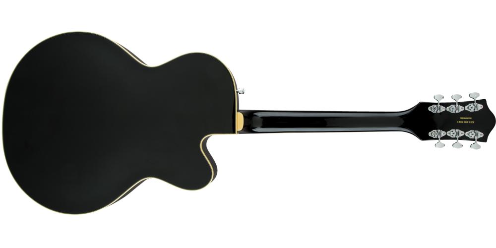 gretsch g5420lh electromatic black guitarra zurdos trasera