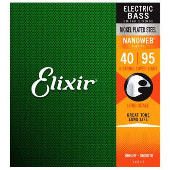 Elixir Nanoweb 14002 Super Light Bass Guitar 40-95