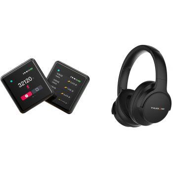 FIIO M5 BK+VULKKANO Air ANC Reprodutor de Audio Portatil y Auriculares Cancelacion Ruido