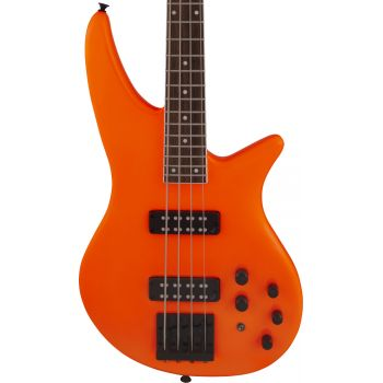 Jackson X Series Spectra Bass SBX IV LRL Neon Orange