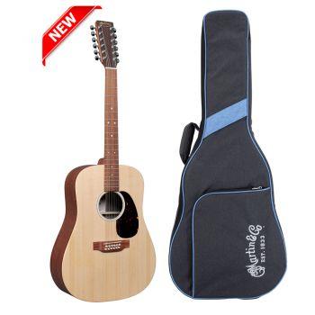 Martin DX2E12 Guitarra Electroacústica con Funda