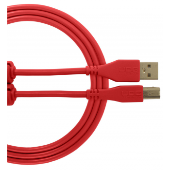 Udg U95003RD Ultimate Cable USB 2.0 A-B Red 3 Metros