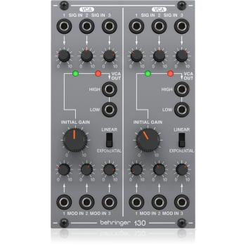 BEHRINGER 130 VCA Doble Modulo Sintetizador System 100