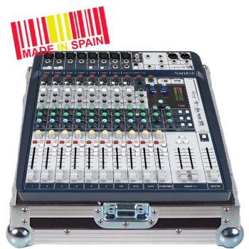 Walkasse WC-SIGNATURE12-ESP Flight case Mezclador Soundcraft SIGNATURE12, Plata