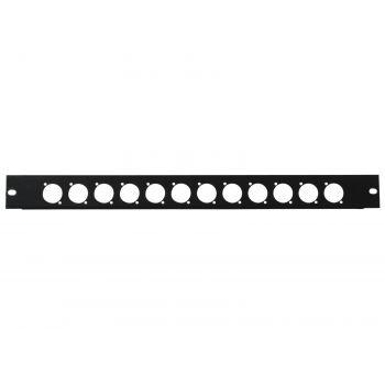 Omnitronic Front Panel Z-19 12 x XLR 1U Panel de Rack