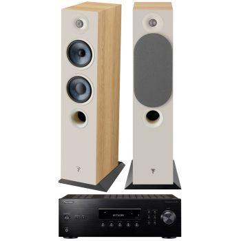 PIONEER SX-10AE-B+Focal Chora 816 walnut Conjunto Audio