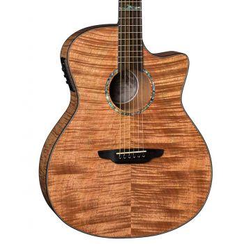 Luna Guitars High Tide Exotic Mahogany. Guitarra Electroacústica