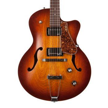 GODIN 5th Avenue CW Kingpin II HB Cognac Burst. Guitarra Eléctrica + Funda
