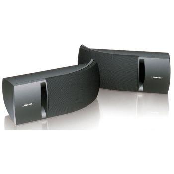 BOSE 161 Negro Cajas Acústicas 2 Vías Stereo HiFi con Soporte Pared. Pareja