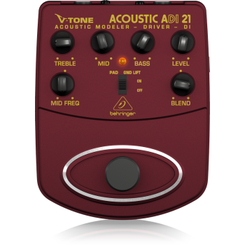 BEHRINGER ADI21 Accesorio Guitarra Efecto Modelador Behringer ADI-21
