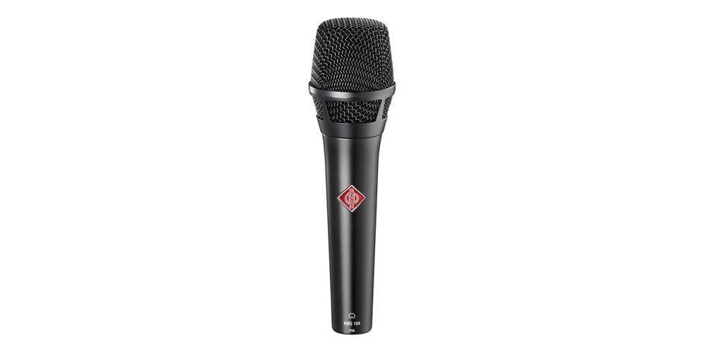 NEUMANN KMS104 Microfono Cardiode, Vocalista - Directo, Negro