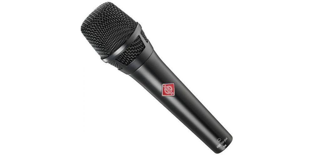 neumann kms 104 black microfono