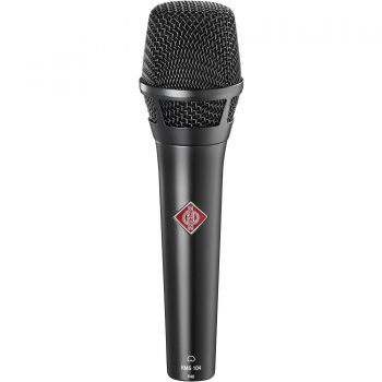 NEUMANN KMS104 Microfono Cardiode, Vocalista - Directo, Negro *
