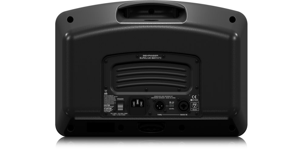 behringer B207mp3 altavoz rear