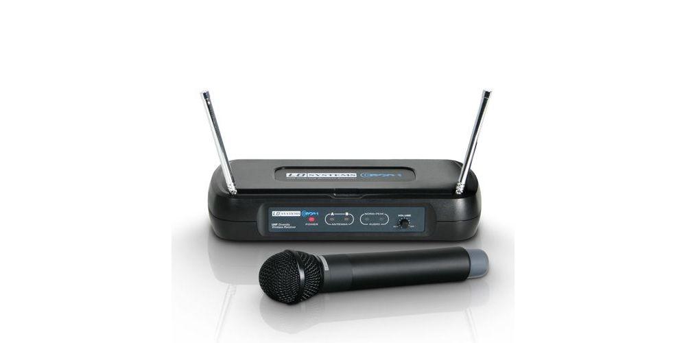 LD SYSTEMS ECO 2 HHD2 Microfono Inalambrico de Mano